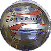 1941-1948-Chevy-Hub-Cap-Chrome-Plated