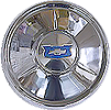 1954 Chevy Hub Cap with Blue Crest