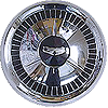 1957 Chevy Bel Air Hub Cap with Crest