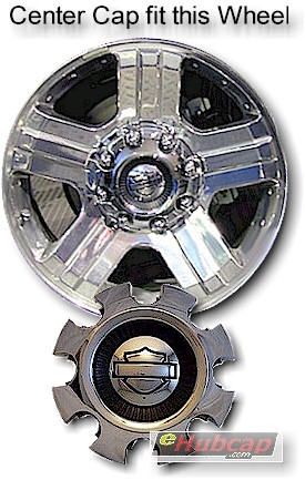 NEW OEM HARLEY DAVIDSON WHEEL CENTER HUB CAP FORD SUPERDUTY 5C3Z-1130-AC